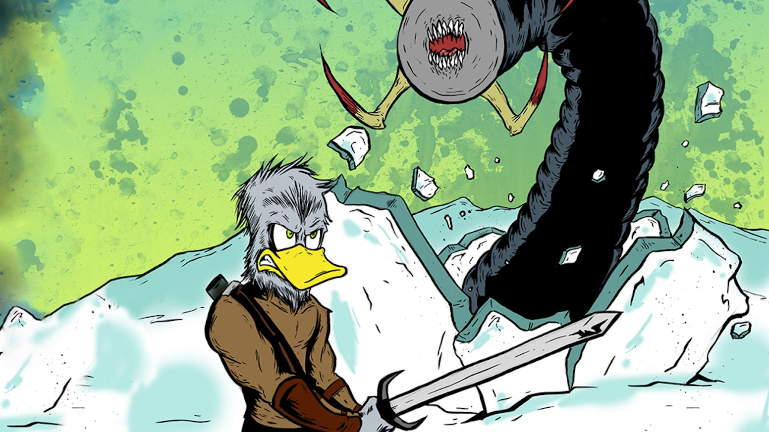 Get an Alternate Cover Edition of Quackup #3 by Ray Mullikin!