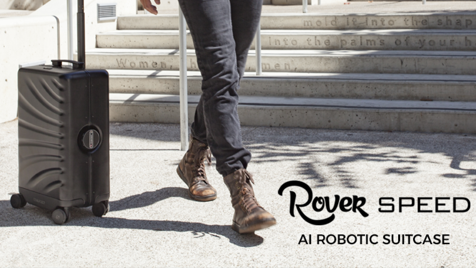 The next generation of travel convenience. Auto-follow. Obstacle Avoidance. Airline approved. TSA compliant. Power Bank. Smart Wheels.