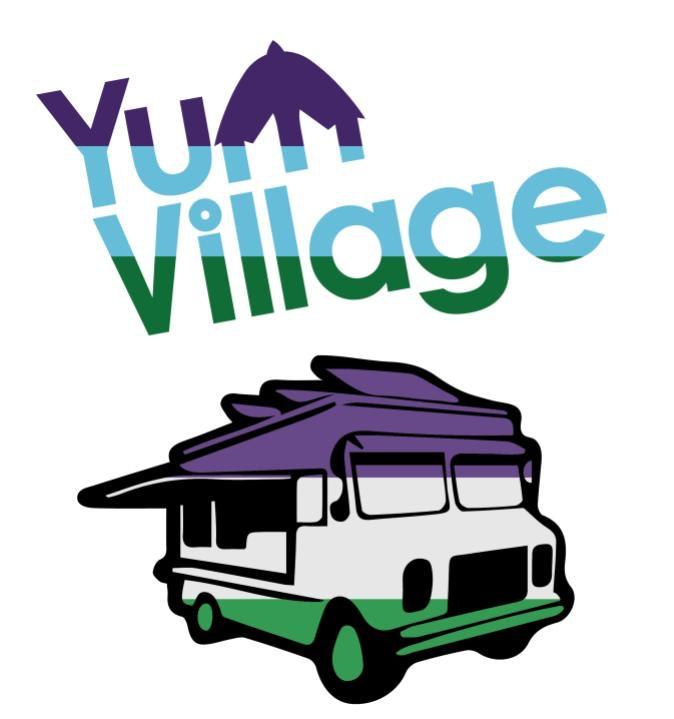 YumVillage Food Truck Sticker