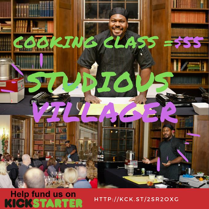 Studious Village (Cooking Class = $55) #VoteYumVillage #FundYumVillage