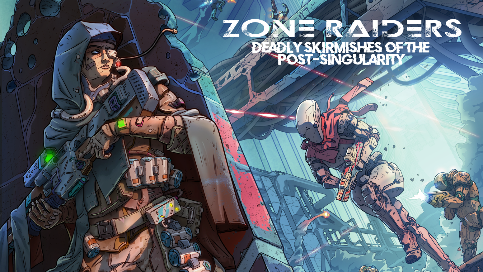 Zone Raiders: a Miniatures Campaign Skirmish Game by Fractal