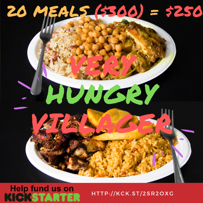 Very Hungry Villager (20 Meals ($300) = $250)