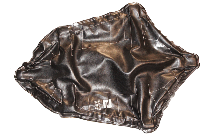 Bottom Black Synthetic Leather