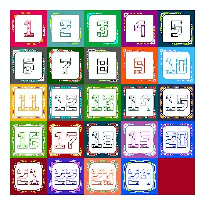 8bit Calendar