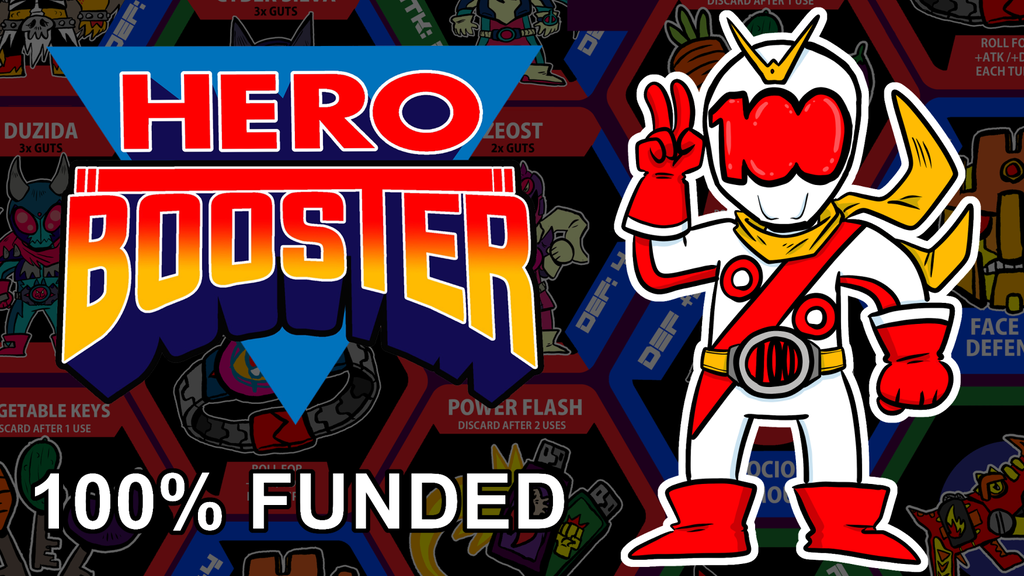 HERO BOOSTER: Superhero Card Game project video thumbnail