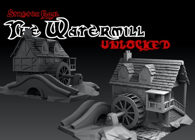 £9000 Stretch Goal - The Watermill