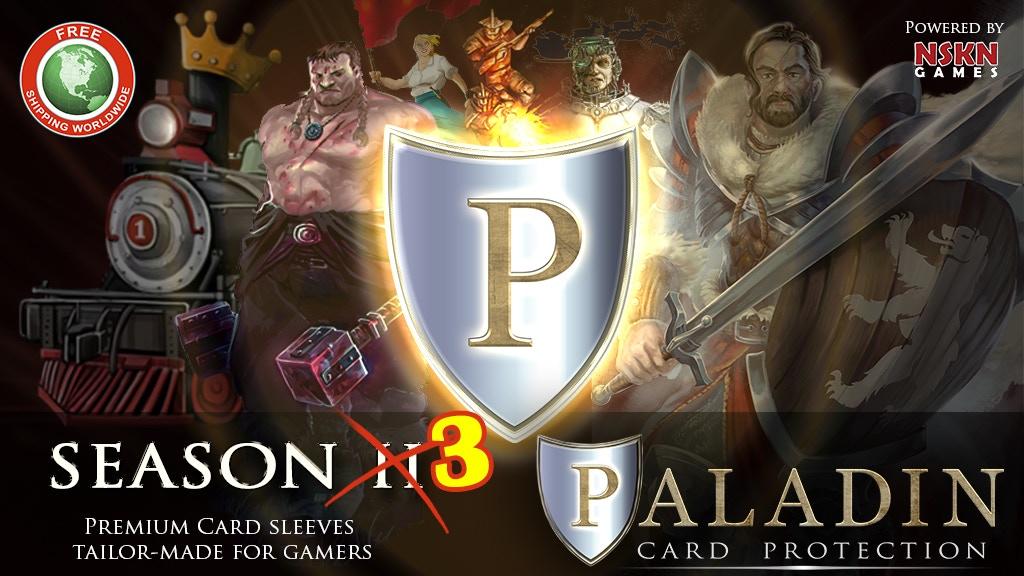 Paladin Card Protectors: Season 3 project video thumbnail