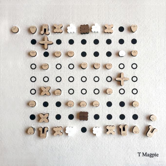 Shogito-shogit set-White felt