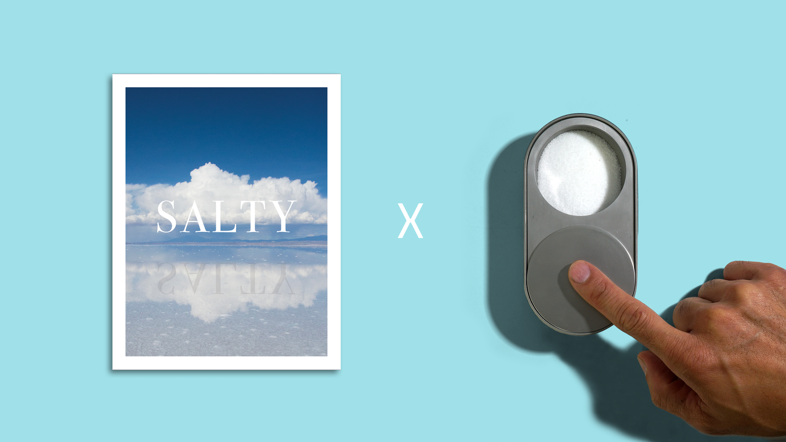 Salty-A salt vessel + a magazine about salt.