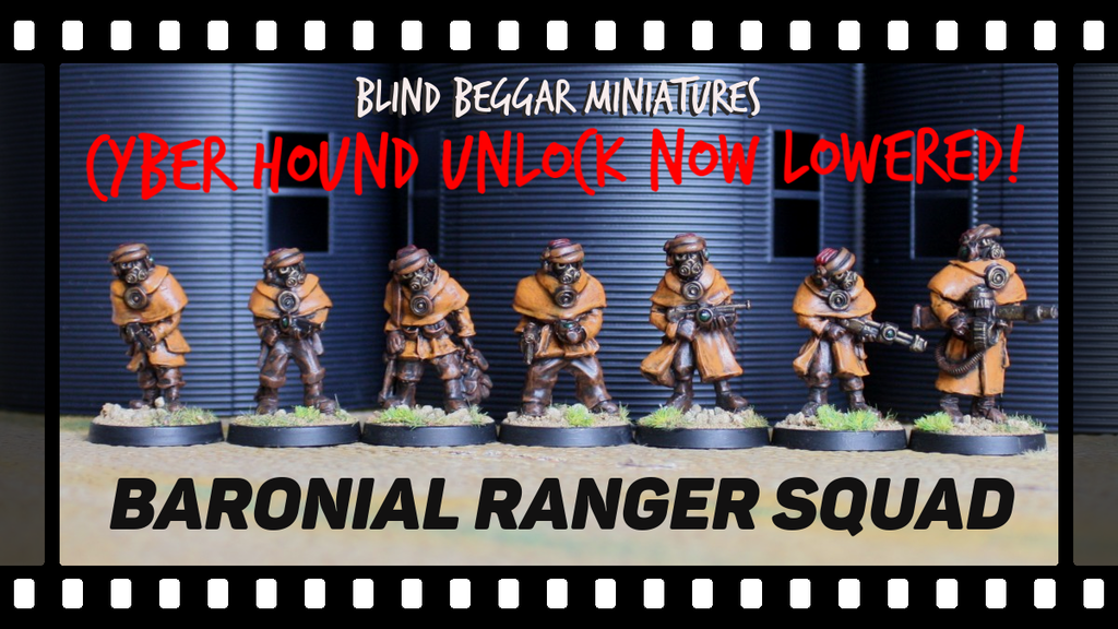 Introducing the Baronial Rangers of Outland miniatures PLUS another chance to get those deals that you may have missed out on earlier!