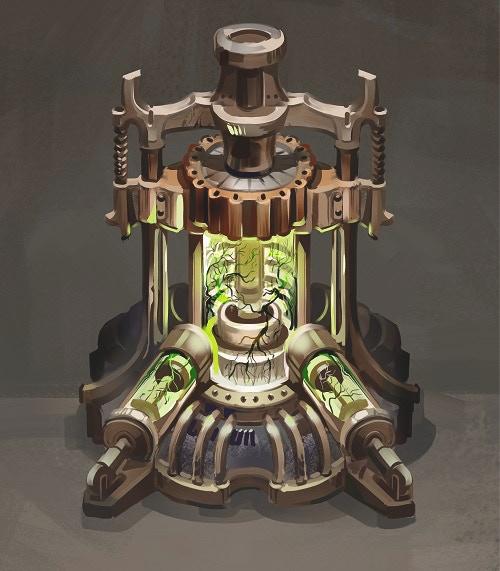Anathema Engine (art credit Augustinas Raginskis)