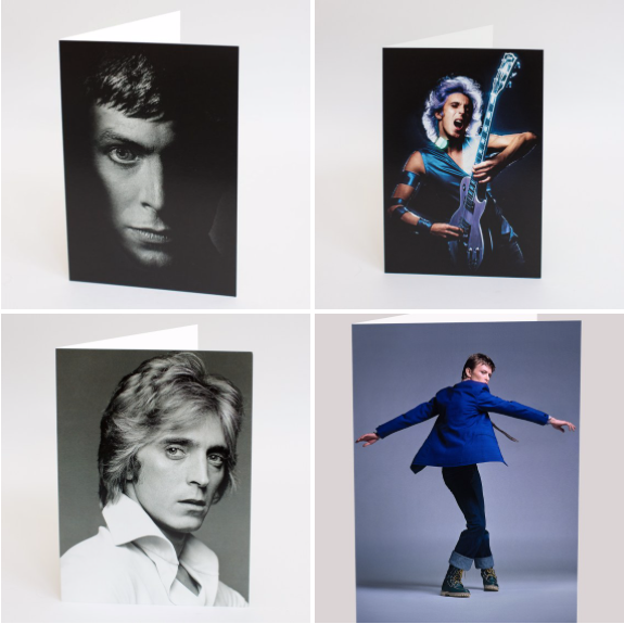 Ronson and Bowie Cards