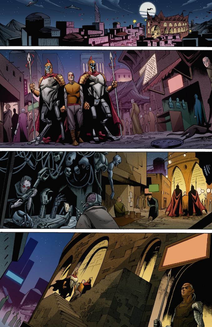 The Strange #04, Page 1