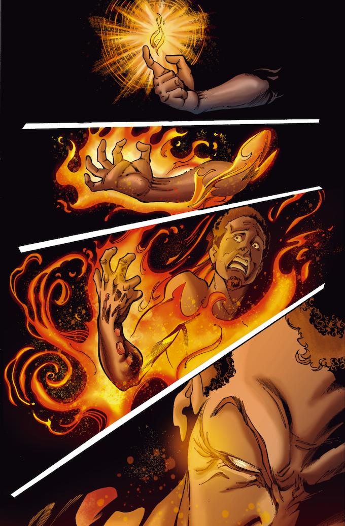 The Strange #04, Page 3