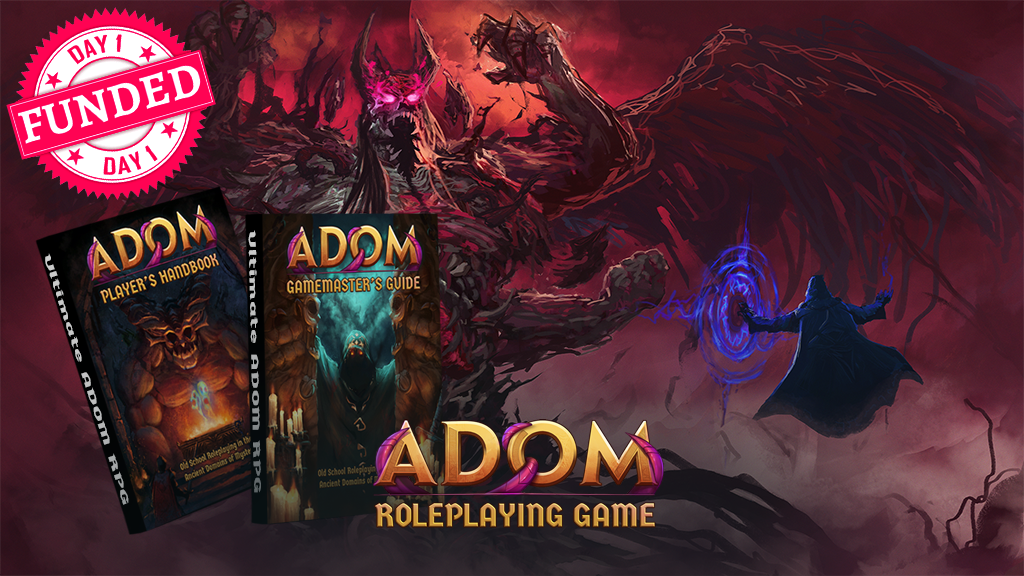 The ADOM (Ancient Domains Of Mystery) Roleplaying Game project video thumbnail