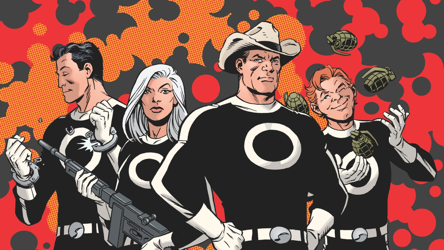 ATOMIC MUTATIONS! FLYING SAUCERS! COMMIES! Karl Kesel & Tom Grummett's SECTION ZERO returns— in an ALL NEW graphic novel set in 1959!