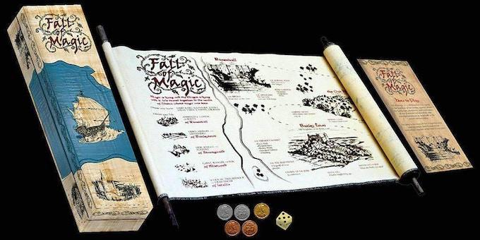 Fall of Magic - scroll style