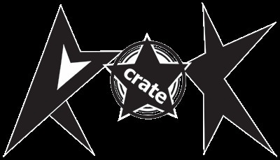 Rokcrate Logo (sticker)  - Logo details subject to change due to any streamlining