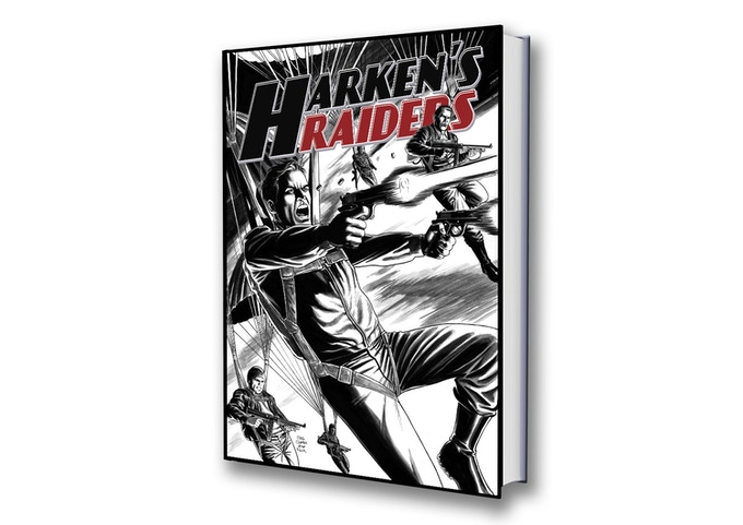 Harken's Raiders Variant Cover by Craig Cermak