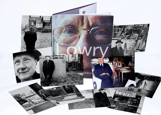 Lowry At Home: Salford 1966 by Clive Arrowsmith and Limited Edition Postcards