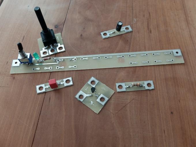 First PSITRON modules.