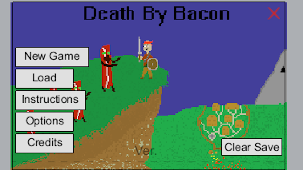 Project image for Death by Bacon - Sandbox RPG