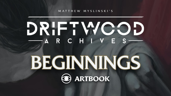 Delve into the dark fantasy world of Driftwood Archives with this collection of paintings, storytelling, and artistic insight.