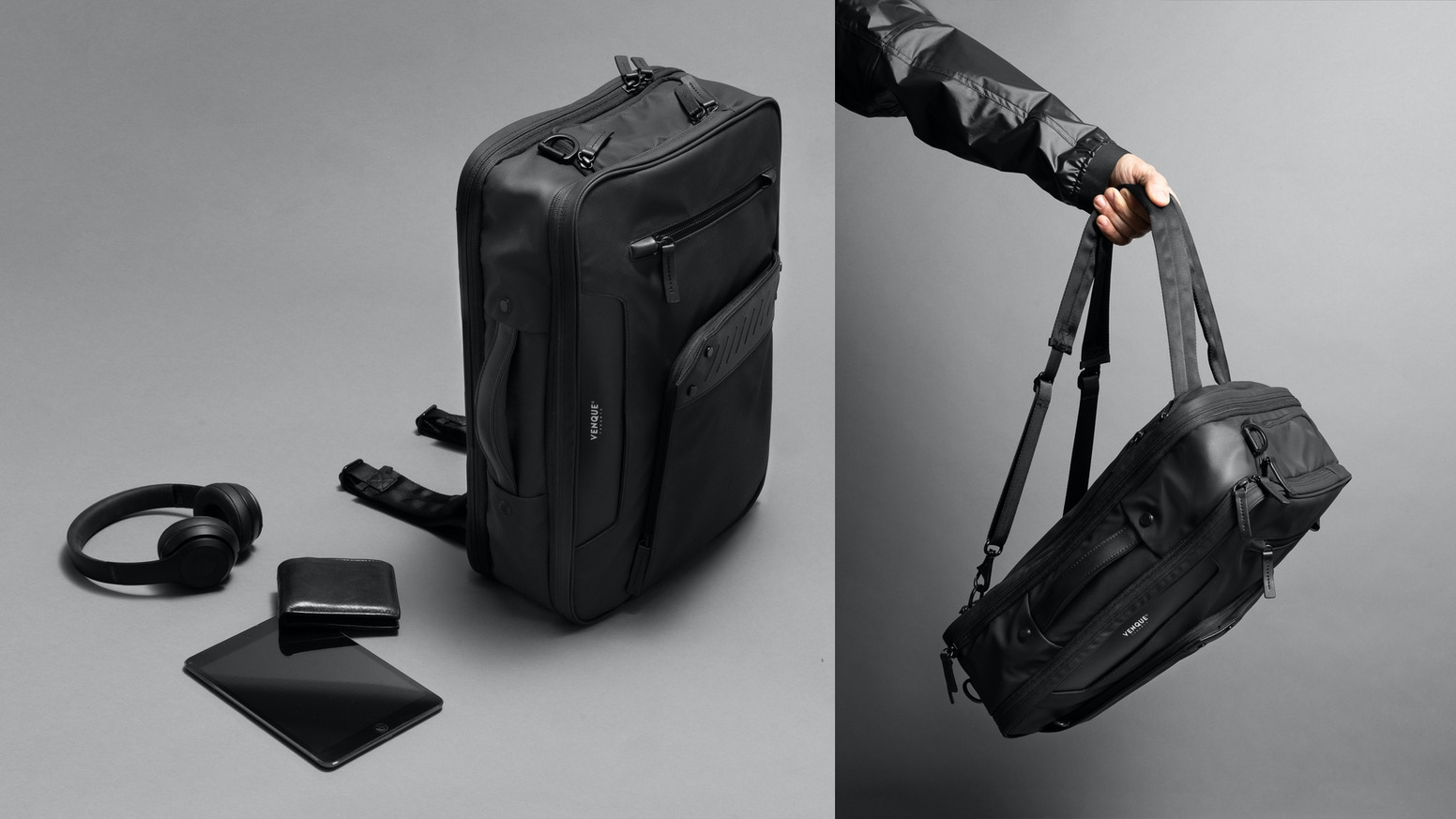 Modern Advanced Design+ 15 Features, Transformable, Convertible, 3 Ways of Carrying, All in One, The most versatile bag for your travel