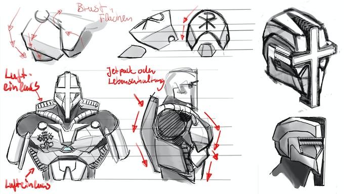 Concepts / Laser-Suit Mark II