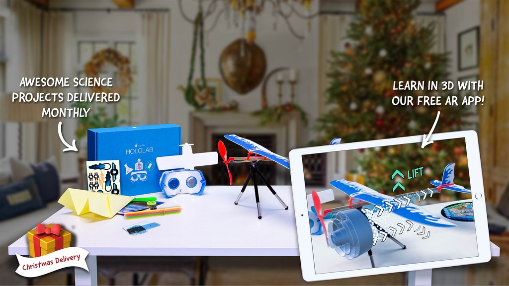 Hololab: Give the Gift of Augmented Reality STEM Fun! project video thumbnail