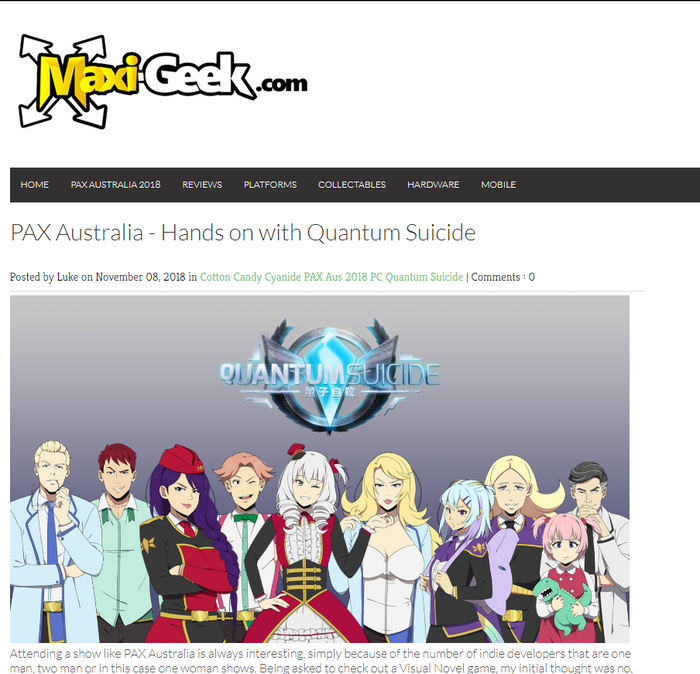 QUANTUM SUICIDE: A Visual Novel in Space  Kill or be killed  by