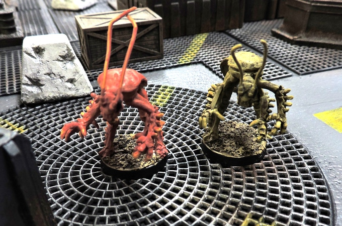 Two atomic Coachroaches prowling the wastelands. This pack of two goes for 13.99
