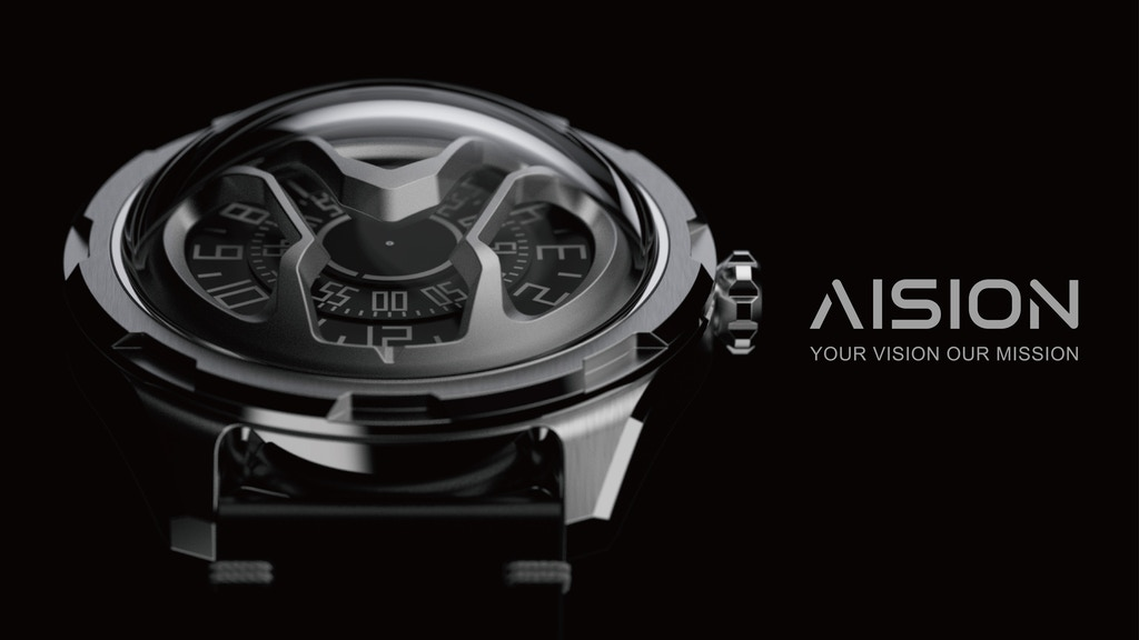 AISION: Futuristic inspired automatic watches from Hong Kong
