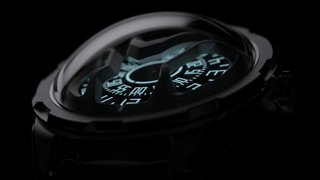 AISION: Futuristic inspired automatic watches from Hong Kong project video thumbnail