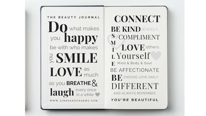 Inside Cover - The Beauty Journal Manifesto