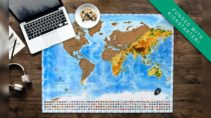 Scratch Off World Map Poster.Scratch Off World Map By Travelscratches Personalized Map By