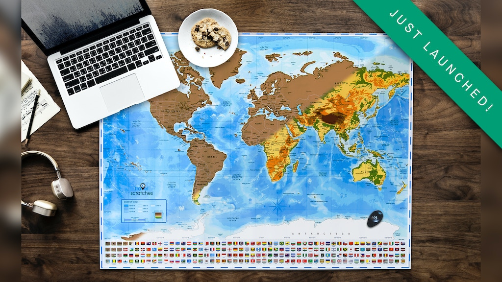 Scratch Off World Map By Travelscratches No Ordinary Map By