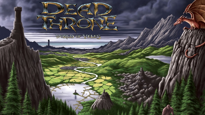 Dead Throne, an open world board game with never before seen components and mechanics.
