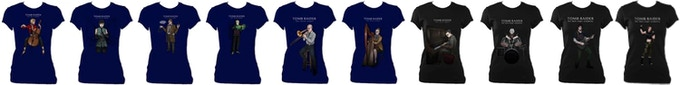 Women's Fitted T-shirts. Increase your Pledge Amount by £20 to add one t-shirt