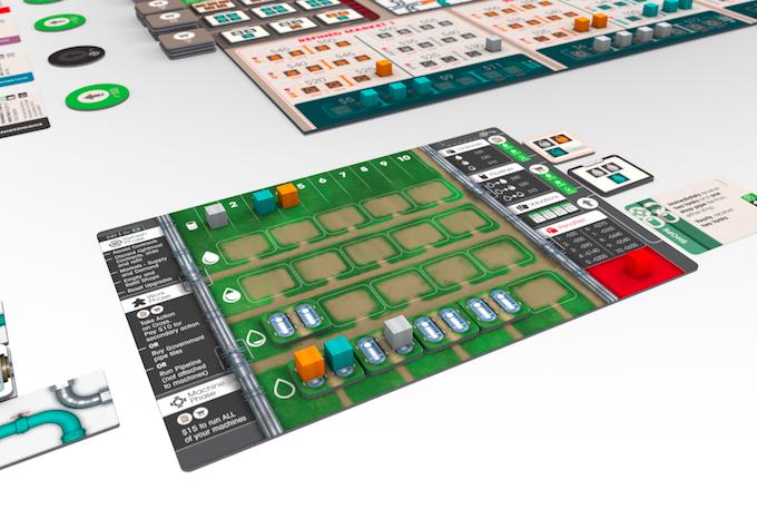 New Player Board Design