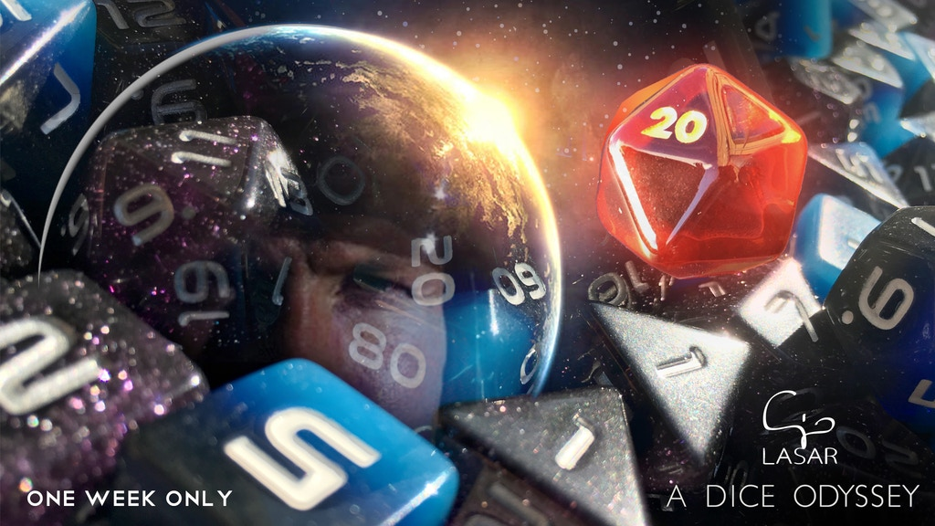 A Dice Odyssey project video thumbnail
