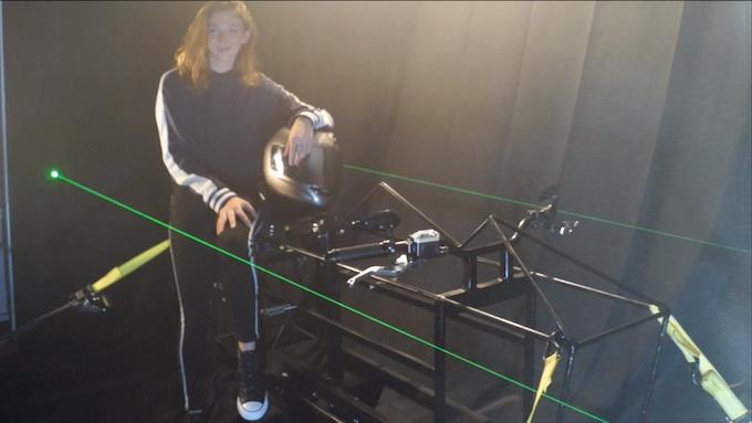 Protobike 1 'Beatrice' - designed to test basic level concepts