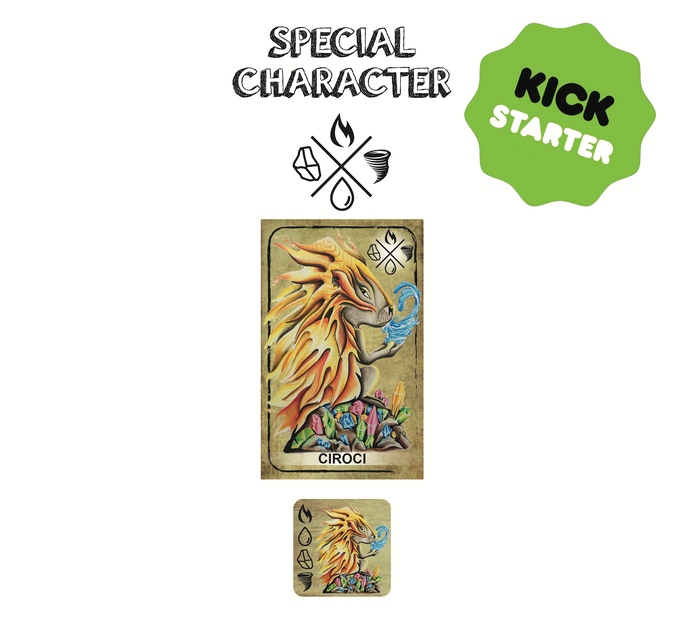 Special Character - LUPO GHIACCIO