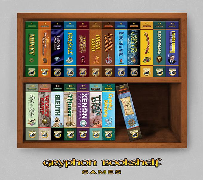 The Gryphon Bookshelf Series