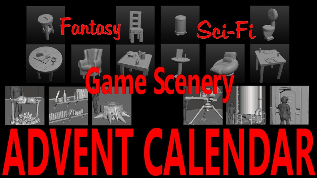BACK BY POPULAR DEMAND - £2 RPG & Wargame Scenery Printables project video thumbnail