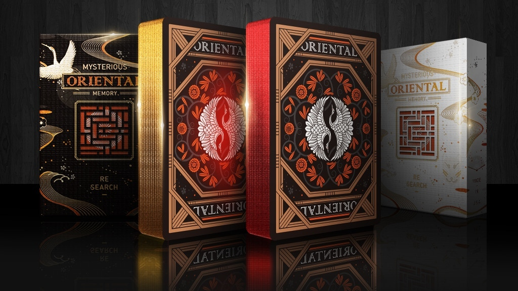 Oriental Memory Playing Cards By Stone