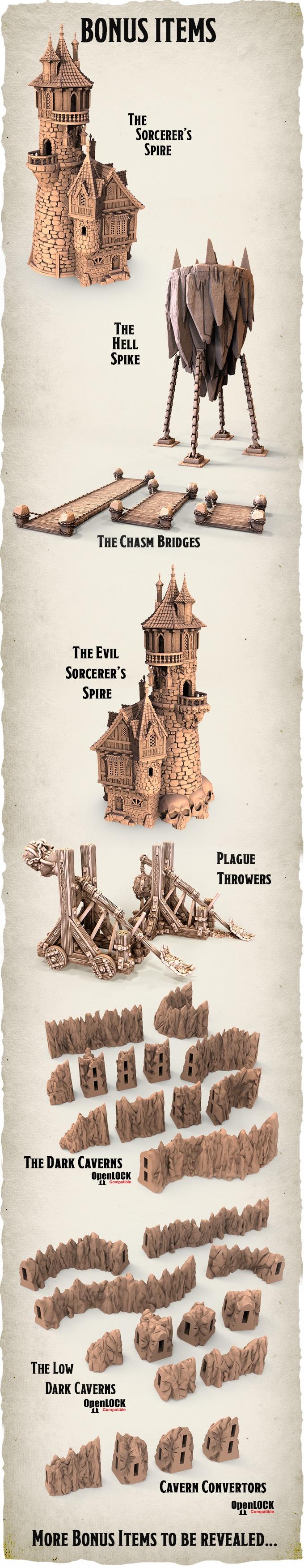 KS] Dwarves, Elves and Demons (by Printable Scenery) UPDATED