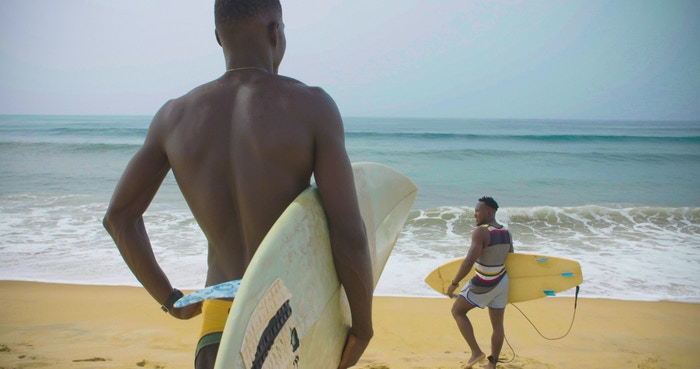 A film documenting an African community that is embracing surf culture.