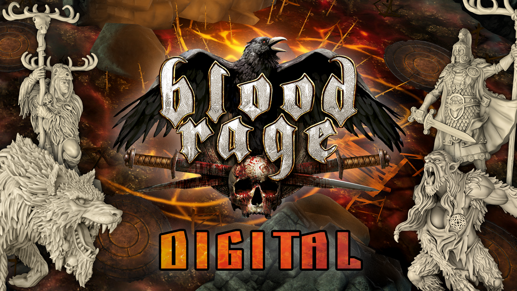 Blood Rage Digital project video thumbnail