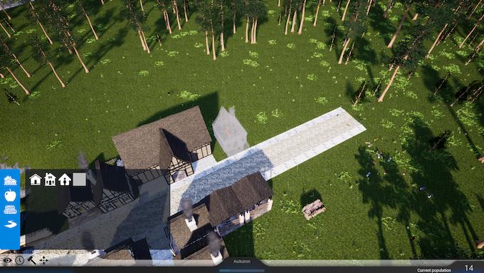 Placing a building